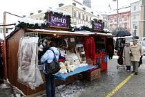 Vánoční Zelný trh v Brně - ilustrační fotografie.