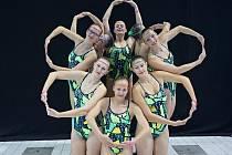 Akvabely z brněnské Tesly na evropském šampionátu v Londýně braly zlaté medaile.