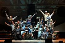Městské divadlo Brno uvedlo v lucemburském Wiltzu jeden ze svých nejúspěšnějších titulů – muzikál Misérables (Bídníci).