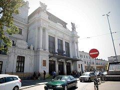 Hlavní budova brněnského vlakového nádraží.