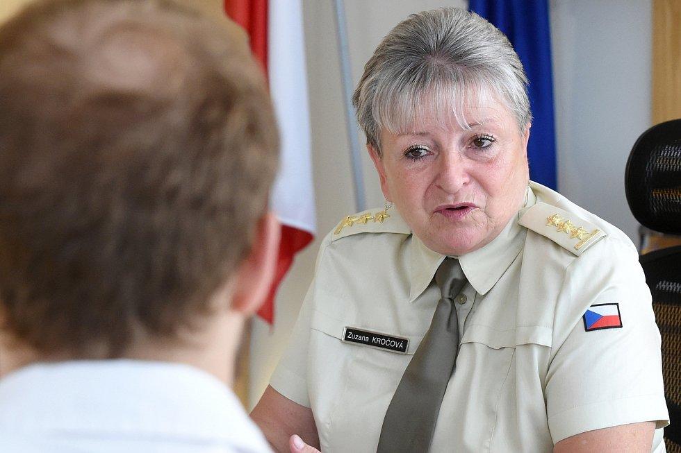 Nová rektorka Univerzity obrany Zuzana Kročová.