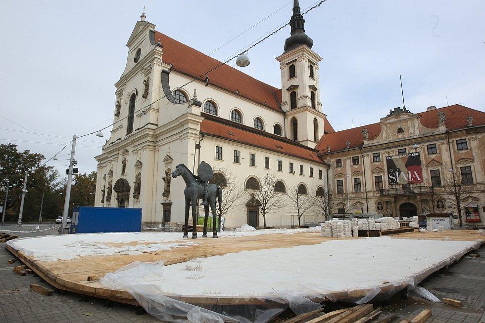 Bruslení v Brně. Ilustrační foto