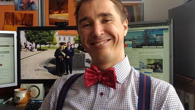 Jiří Jaroš z Fakulty informačních technologií brněnského Vysokého učení technického.