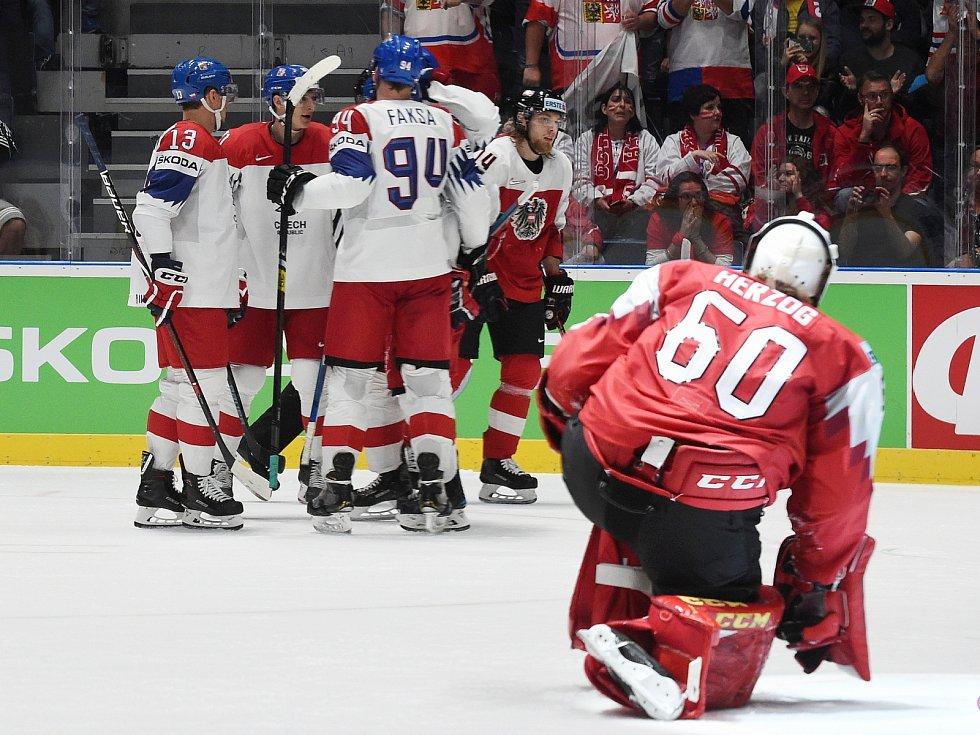 Zápas Česká republika - Rakousko.