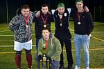 Vítězný tým zimní ligy Brněnského svazu malé kopané KMK Dynamo Brno.