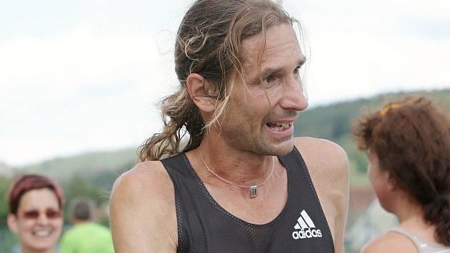 Brněnský vytrvalec Daniel Orálek.