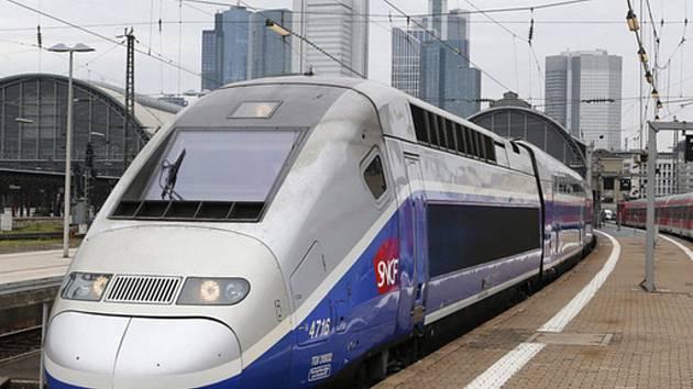 Vysokorychlostní vlak. Ilustrační foto.