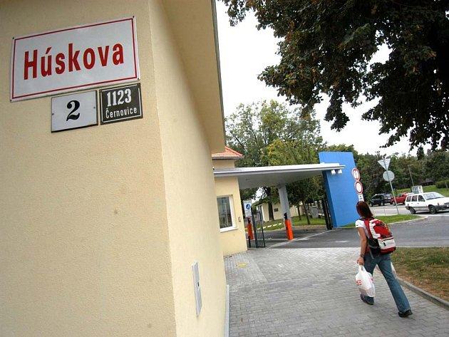 Psychiatrická léčebna v Brně.