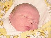 Marian Tichý z Moravských Bránic nar. 29.12.2012 v Nemocnici Milosrdných bratří