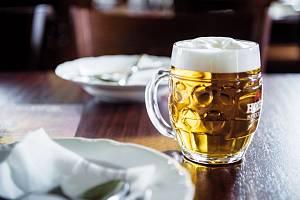Sládek pivovaru Holba Luděk Kurek