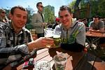Brňané si opět po roce pochutnali na zeleném pivu.
