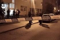 V bytě v brněnské ulici Majdalenky vybouchla propanbutanová lahev. Na místě zasahovala policie, hasiči i záchranáři.