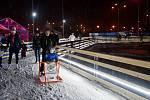 Závěr soboty na Olympijském festivalu v areálu brněnského výstaviště.