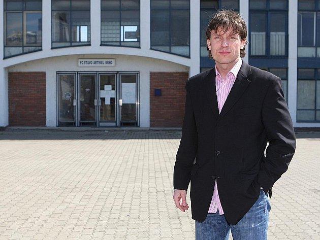 Fotbalový agent Daniel Hanus.