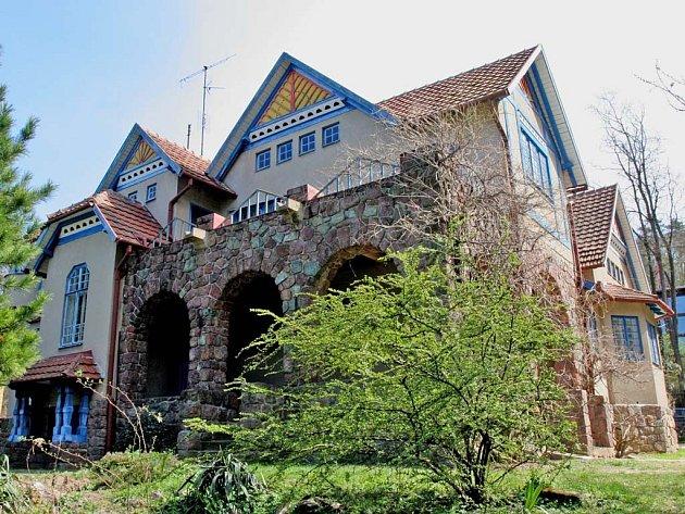 Jurkovičova vila v Brně - Žabovřeskách má velkou šanci získat dotace z Norských fondů. Moravská galerie tam chce zřídit badatelské centrum o architektuře.