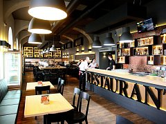 Nedávno otevřená restaurace Padowetz.