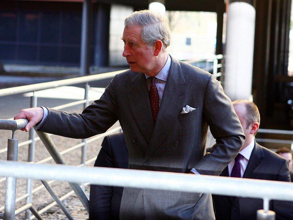 Britský následník trůnu princ Charles navštívil Brno.