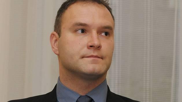 Martin Rybnikář u Krajského soudu v Brně.