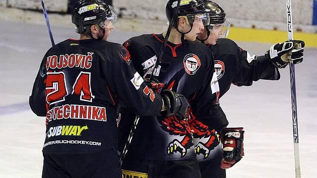 Hokejová Technika. Ilustrační foto.