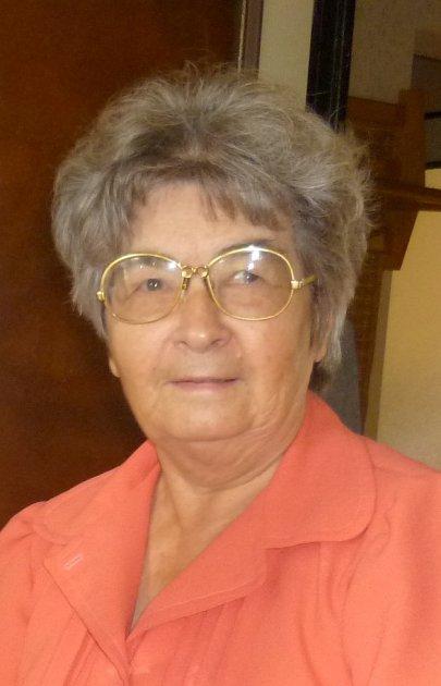 Vladimíra Sedláčková, 79let, učitelka, za války žila vDobroníně uJihlavy
