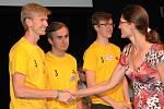 Studenti brněnské průmyslové školy v Sokolské ulici získali stříbrnou medaili.