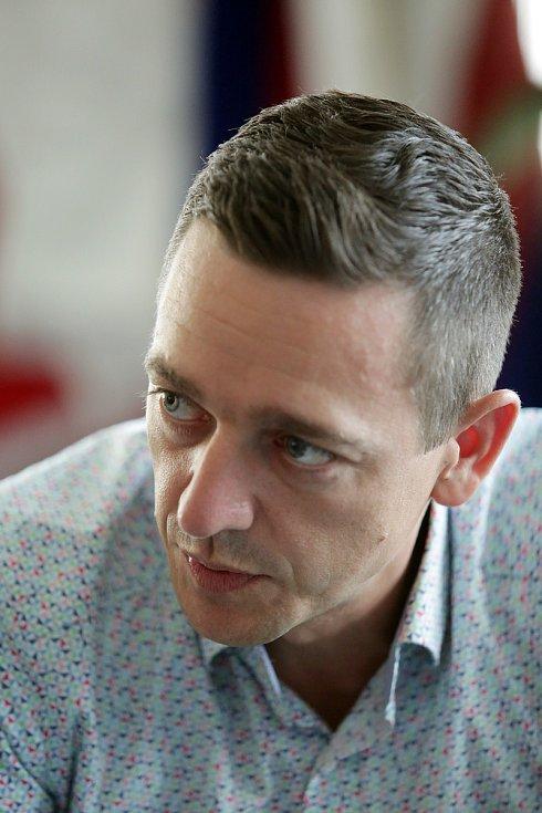 Jihomoravský hejtman Jan Grolich.
