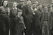 Jedna z prvních pracovních čet v brněnské ZOO.