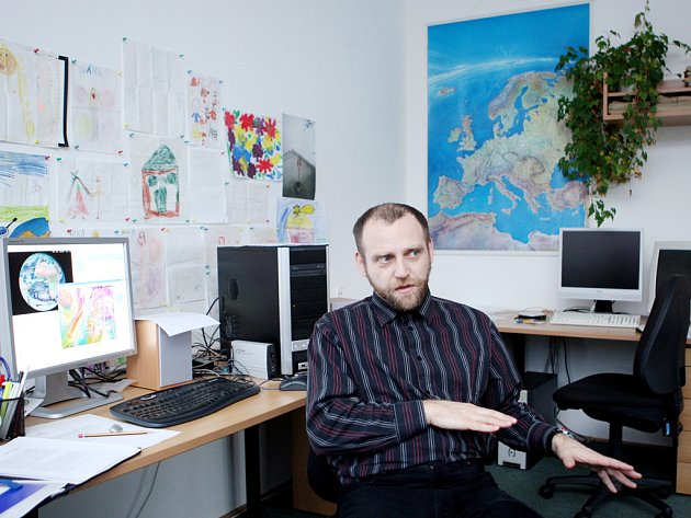Meteorolog Milan Šálek.
