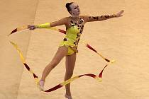 Brno o víkendu hostilo československý šampionát v moderní gymnastice.