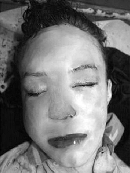Přibližná podoba ženy, kterou v neděli po sedmé hodině večerní srazila v Kníničské ulici v brněnských Žabovřeskách tramvaj.