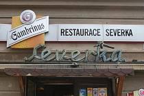 Brněnská restaurace Severka v Tučkově ulici.