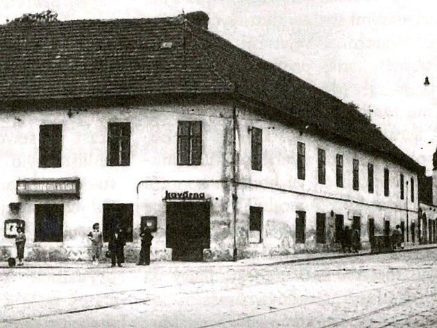Na Mendlově náměstí stával i zámek.