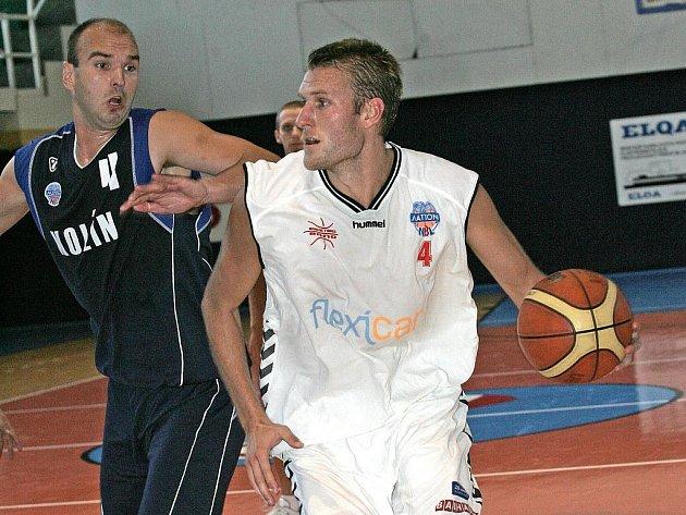 Štěpán Reinberger (v bílém).