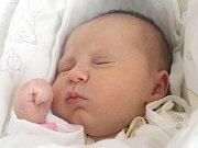 Eliška Burianová z Brna nar. 23.10.2012 v Nemocnici Milosrdných bratří