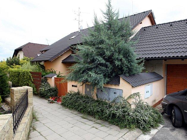 Dům vBrně-Ivanovicích, ve kterém se čtyřnásobná vražda stala.