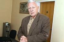 Šestaosmdesátiletý Radovan Poděl pracoval při pochodu smrti jako dozorce.
