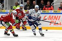 Pokud brněnský tým vyhraje v základní hrací době, a zároveň Kladno po prodloužení nebo nájezdech zdolá Litvínov, pošle Pardubice do první ligy.