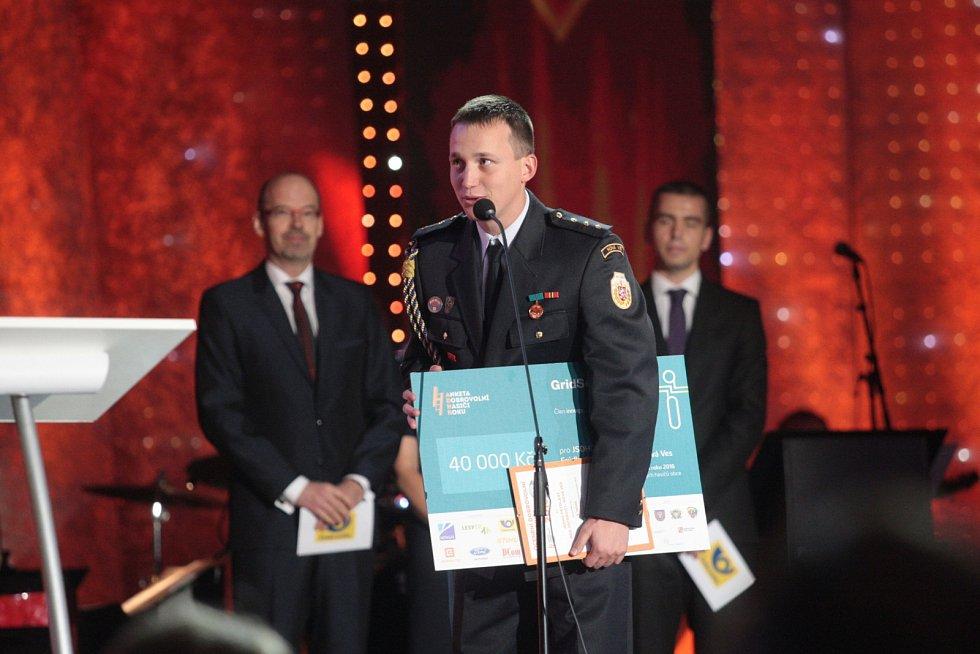 Dobrovolnými hasiči roku 2016 se pro jih Moravy stali hasiči ze Zastávky na Brněnsku.