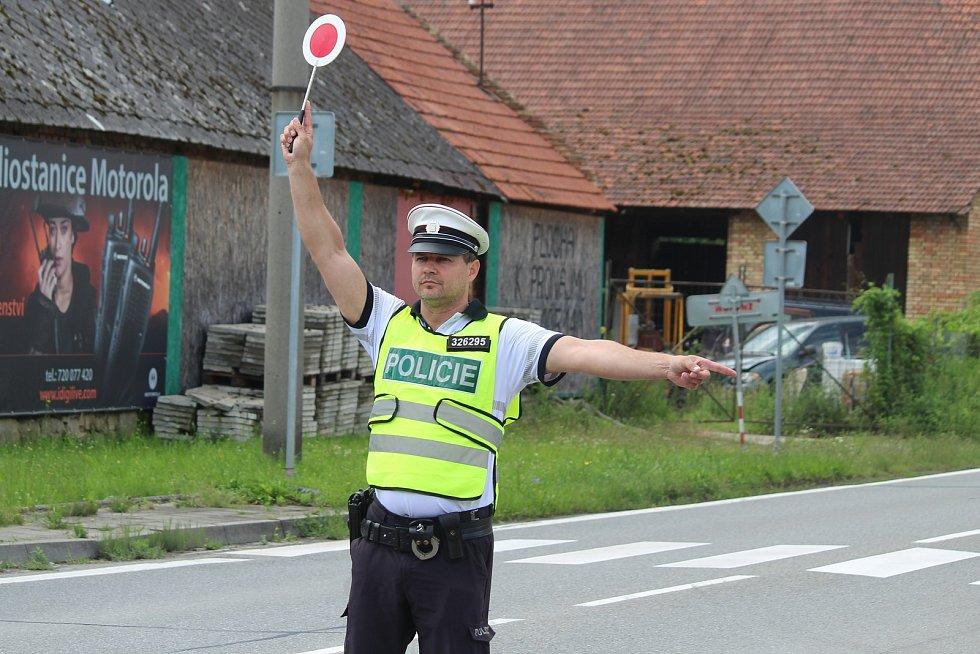 Policejní kontrola, ilustrační foto