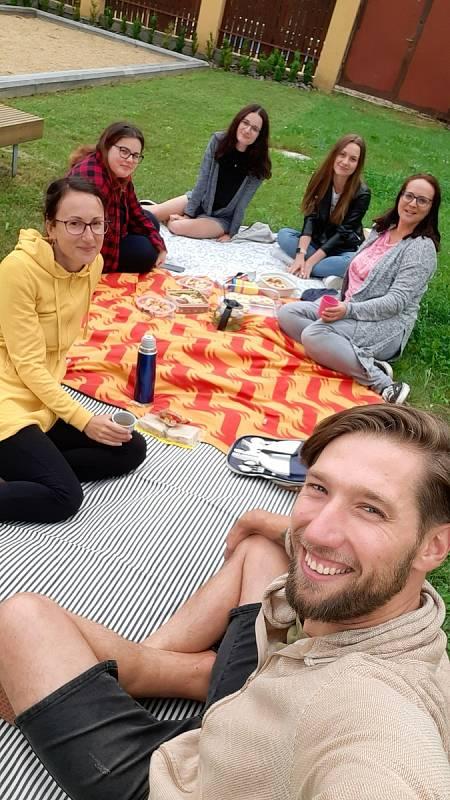 Společně proti samotě se na pikniku sešli lidé také v Třebíči.