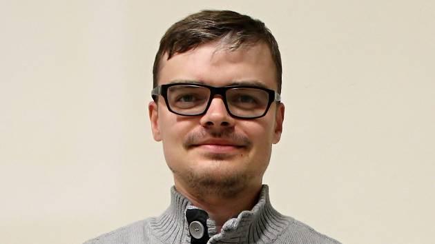 Krajský redaktor Deníku Rovnost Michal Hrabal.