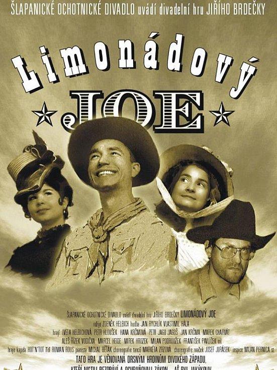 Plakát k inscenaci Limonádový Joe.