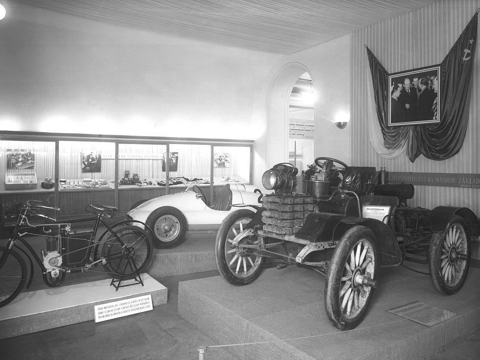 Z historie Technického muzea Brno.