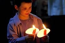 Večer o Bílé Sobotě je vrcholem velikonočních svátků. Křesťané oslavují Kristovo zmrtvýchvstání. Také v Bazilice Nanebevzetí Panny Marie na Starém Brně se v sobotu večer slavily tradiční vigilie.