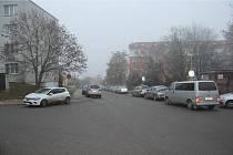 Místo přepadení v křižovatce Klajdovské, Puchýřovy a Kosíkovy ulice v brněnské Líšni.