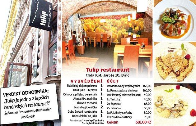 Tulip restaurant.