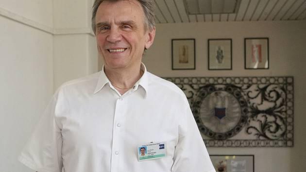 Přednosta Gynekologicko-porodnické kliniky na Obilním trhu Pavel Ventruba.