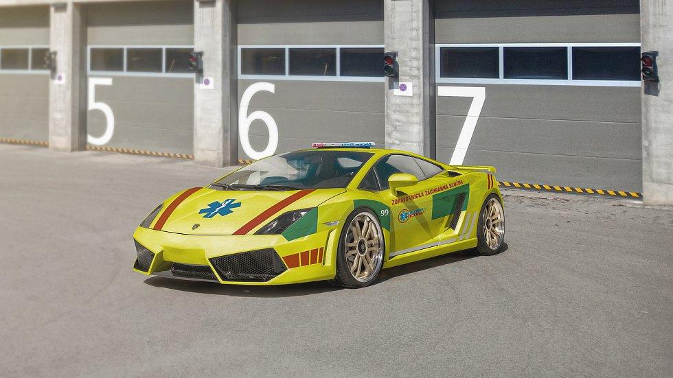 Jihomoravští záchranáři mají nové Lamborghini.