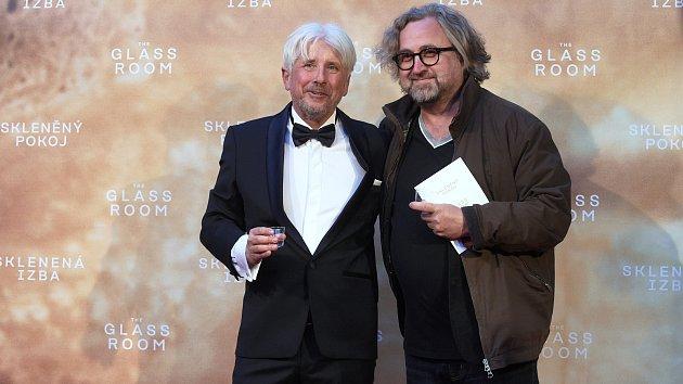 Slavnostní premiéra filmu Skleněný pokoj v brněnském univerzitním kině Scala.