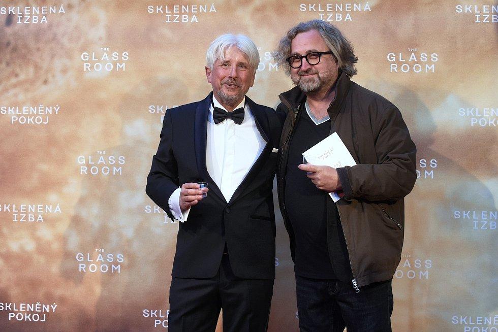 Brno 12.3.2019 - Slavnostní premiéra filmu Skleněný pokoj v brněnském univerzitním kině Scala - Jan Hřebejk.